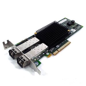 Picture of EMULEX LPE12002-M8 DUAL PORT 8GB PCI-E FIBER CHANNEL HBA NETWORK CARD