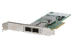 Picture of DELL 07T5GY BROCADE 825 DUAL FIBRE CHANEL PORT 8GB PCI-E HOST BUS ADAPTER.