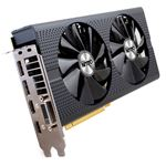 Picture of SAPPHIRE 00406NT+4GOCL NITRO+ Radeon RX 480 4GB 256-Bit GDDR5 PCI Express 3.0 x16 HDCP Ready Video Card