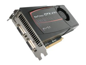 Picture of EVGA 012 P3 1470 A2 GeForce GTX 470 (Fermi) 1280MB 320-bit GDDR5 PCI Express 2.0 x16 HDCP Ready SLI Support Video Card