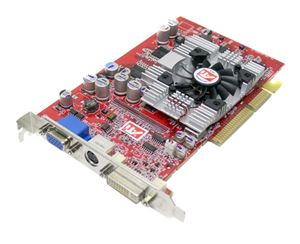 Picture of ATI RADEON9600XT128MB 128-bit DDR AGP 4X/8X Video Card