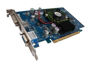 Picture of EVGA 128 P2 N357 A1 GeForce PCX5750 128MB 128-bit DDR PCI Express x16 Video Card