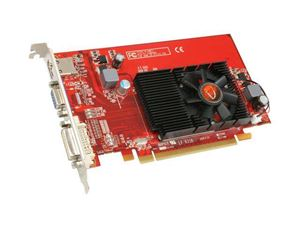 Picture of VISIONTEK 900253 Radeon HD 4550 512MB 64-bit DDR3 PCI Express 2.0 x16 HDCP Ready CrossFireX Support Video Card