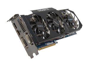 Picture of GIGABYTE GV R697UD 2GD REV2.0 Radeon HD 6970 2GB 256-bit GDDR5 PCI Express 2.1 x16 HDCP Ready CrossFireX Support Video Card