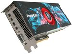 Picture of POWERCOLOR AX6990 4GBD5 M4D Radeon HD 6990 4GB 256-bit GDDR5 PCI Express 2.1 x16 HDCP Ready CrossFireX Support Video Card with Eyefinity