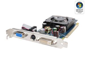 Picture of ECS N7300LE 128DY GeForce 7300LE 128MB 64-bit GDDR2 PCI Express x16 SLI Support Video Card