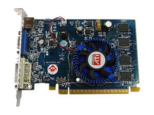 Picture of DIAMOND 2400PRO512PESB Stealth Radeon HD 2400PRO 512MB 64-bit GDDR2 PCI Express x16 HDCP Ready Video Card - OEM