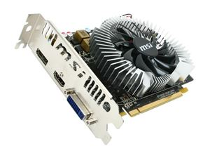 Picture of MSI R5670PMD1G Radeon HD 5670 (Redwood) 1GB 128-bit GDDR5 PCI Express 2.1 x16 HDCP Ready CrossFireX Support Video Card w/ATI Eyefini