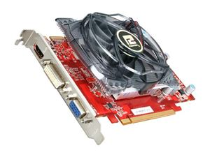 Picture of POWERCOLOR AX5670 1GBD5-H Radeon HD 5670 (Redwood) 1GB 128-bit GDDR5 PCI Express 2.1 x16 HDCP Ready CrossFireX Support Video Card
