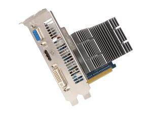 Picture of ASUS EN210 SILENT/DI/512MD2/LP GeForce 210 512MB 64-bit DDR2 PCI Express 2.0 x16 HDCP Ready Low Profile Ready Video Card