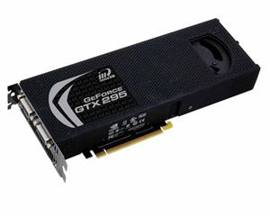Picture of INNO3D GTX295-1792-OC GeForce GTX 295 1792MB 896 (448 x 2)-bit GDDR3 PCI Express 2.0 x16 HDCP Ready SLI Support Video Card