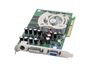 Picture of AOPEN GF 6600 DV256 GeForce 6600 256MB 128-bit DDR AGP 4X/8X Video Card