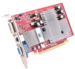 Picture of SAPPHIRE 100180 Radeon X550 HyperMemory 256MB HyperMemory DDR PCI Express x16 Video Card - OEM
