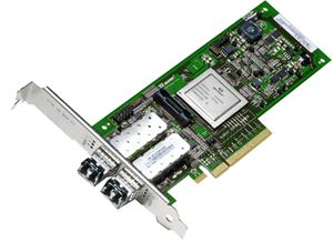Picture of CISCO N2XX-QAPCI05= QLE2562 dual port 8Gb Fibre Channel-to-PCI Express adapter 8Gbps PCI-Express 2 x LC
