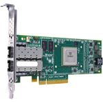 Picture of DELL 0C9C50 QLE4062C iSCSI Host Bus Adapter 8Gbps PCI Express x4 2.50 GHz 2 x RJ-45 iSCSI