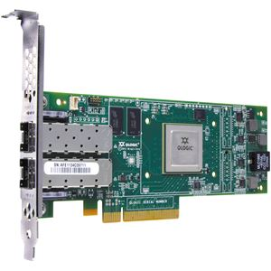 Picture of CISCO N2XX-AQPCI01 QLE8152 Dual Port 10Gbps Enhanced Ethernet to PCIe Converged Network Adapter