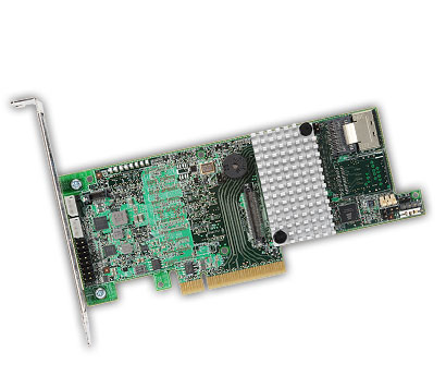 LSI L3-25413-07C 9271-4i MegaRAID PCI-Express 3.0 x8 SATA / SAS RAID Controller Single