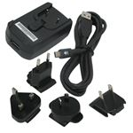 Picture of BLACKBERRY 04074-001 5V Travel Charger with Removeble Clips for Blackberry RIM 7100 7500 6500 7200 6200 Series