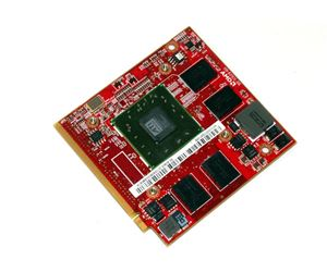 Picture of AMD 109-B37631-00F RADEON FIREGL V5725 256MB MOBILE VIDEO CARD.