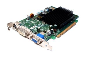 Picture of DELL DK315 GEFORCE 7300 LE PCIE X16 VIDEO CARD 128MB DVI VGA TV-OUT