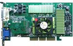 Picture of DELL 054NHR NVIDIA GEFORCE2 64MB AGP DVI VGA VIDEO GRAPHICS CARD