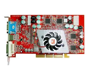 Picture of ATI 109-A07500-00 ATI RADEON 9800 PRO 128MB VGA DVI S-VIDEO AGP VIDEO GRAPHICS CARD.