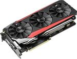 Picture of ASUS STRIX-GTX980TI-DC3-6GD5-GAMING NVIDIA GEFORCE GTX 980 TI 6GB GDDR5 PCI E 3.0 VIDEO CARD.