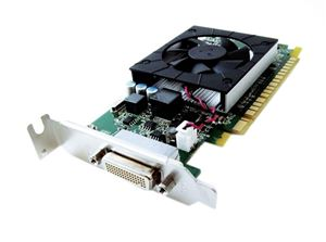 Picture of LENOVO 0B47073 NVIDIA GEFORCE 605 1GB DDR3 PCIe 2.0 DVI DMS59 GRAPHICS CARD.